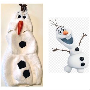 Other - Adorable Olaf costume, worn one Halloween 2T